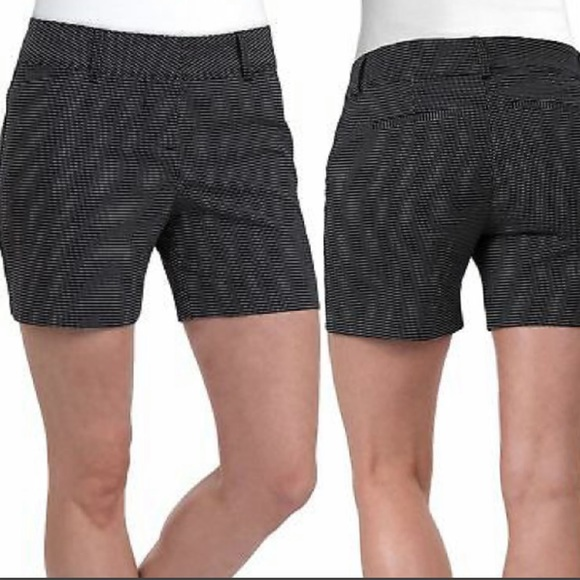 The Limited Pants - The Limited Black Polka Dot Tailored Shorts